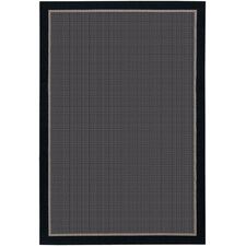 Tides Freeport Black Indoor/Outdoor Area Rug