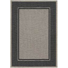 Tides Astoria Black/Grey Indoor/Outdoor Area Rug