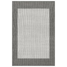 Recife Checkered Field Grey/White Indoor/Outdoor Rug