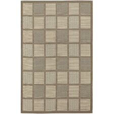 Five Seasons Cream Acadia Indoor/Outdoor Rug