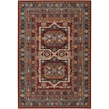 Timeless Treasures Burgundy Maharaja Rug