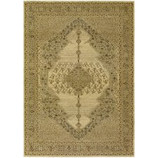 <strong>Couristan</strong> Timeless Treasures Antique Cream Diamond Sarouk Rug