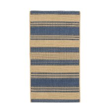 Five Seasons South Padre Blue/Cream Area Rug