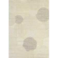 Super Indo-Natural Austin/White Rug
