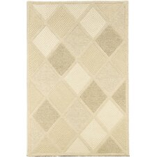Super Indo-Natural Astra/White Area Rug