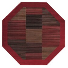 Everest Hamptons Red Octagon Rug