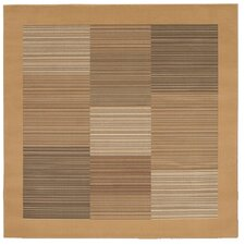 Everest Hamptons/Sahara Tan Square Rug