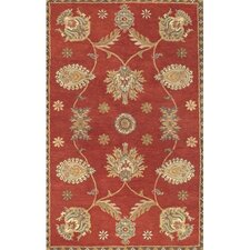 <strong>Couristan</strong> Dynasty All Over Persian Vine Red Rug