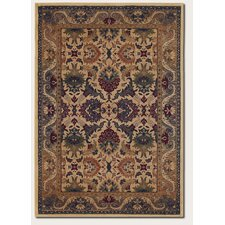 Anatolia Persian Royal Plume/Cream Plum Rug