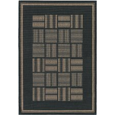 Recife Black Bistro Rug