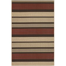 Five Seasons Red Santa Barbara Rug