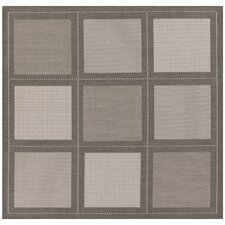 Recife Summit Grey/White Indoor/Outdoor Area Rug