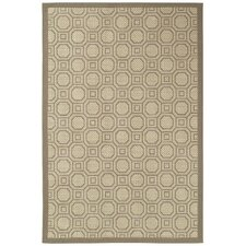 Five Seasons Sausalito Brown/Tan Indoor/Outdoor Area Rug