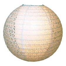 Double Skinned Lacy Design Paper Lantern Shade