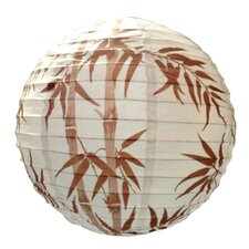 <strong>Loxton Lighting</strong> Irregular Bamboo Paper Lantern Shade