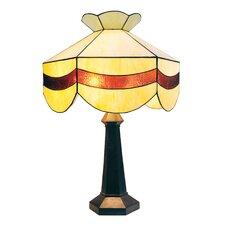 Tiffany Bistro 1-Light Scalloped Table Lamp