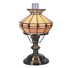 Tiffany Bistro 1 Light Oil Table Lamp