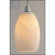 Glass Barrel Pendant Shade