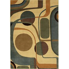"<strong>Shaw Rugs</strong> Modern Home Era Runner 2'6"" x 7'8"" Rug"