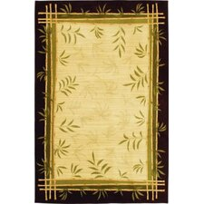 <strong>Shaw Rugs</strong> Modern Elements Lemon Grass Ivory Rug