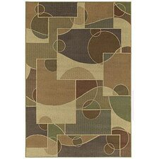 <strong>Shaw Rugs</strong> Concepts Contempo Light Brown/Multi Rug