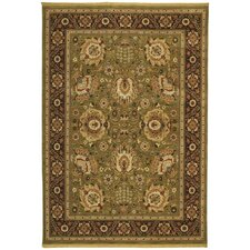 Renaissance Sienna Light Green Rug