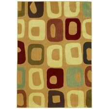 Reverie Go Go Gold Multi Rug
