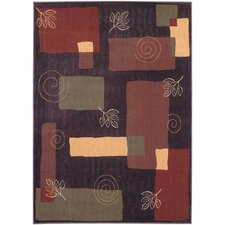 Reverie Pond Plum Rug