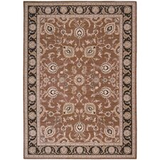 <strong>Shaw Rugs</strong> Arabesque Coventry Polished Copper Rug