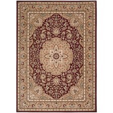 <strong>Shaw Rugs</strong> Arabesque Easton Firebrick Red Rug