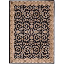 <strong>Shaw Rugs</strong> Arabesque Juliard Cannon Black Rug