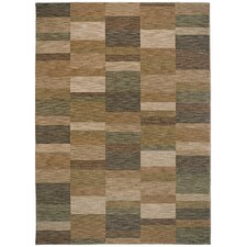 <strong>Shaw Rugs</strong> Modernworks Parallel Gold/Grey Rug