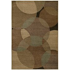 Accents Radius Gold Rug