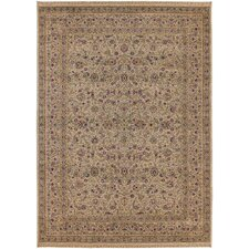 Antiquities All-Over Tabriz Beige Rug