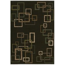 Inspired Design Cubist Brown Rug