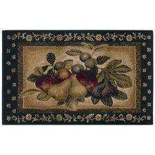 Reflections Four Fruits Novelty Rug