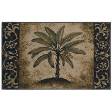 Reflections Palm Novelty Rug