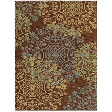 Mirabella Almeria Brown Multi Rug