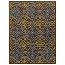 Mirabella Capri Brown/Blue Rug