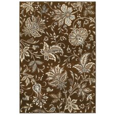 <strong>Shaw Rugs</strong> Newport Jillian's Garden Brown Rug