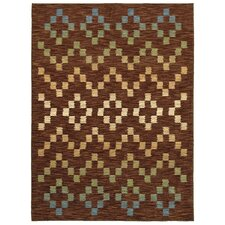 Mirabella Santa Cruz Brown Multi Rug