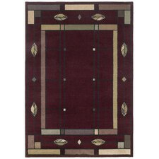 Mission Leaf Scarlet Rug