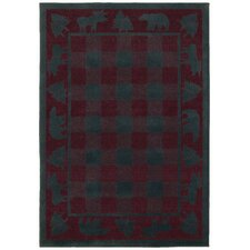 Woodlands Scarlet Rug