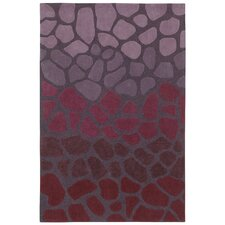 <strong>Shaw Rugs</strong> Loft Purple Stone Walk Rug