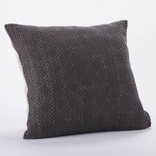 <strong>Coyuchi</strong> Diamond Crochet Linen Organic Cotton Decorative Pillow