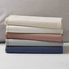 <strong>Coyuchi</strong> Lace 220 Percale Organic Cotton Sham