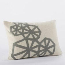 <strong>Coyuchi</strong> Pinwheel Applique Wool Decorative Pillow