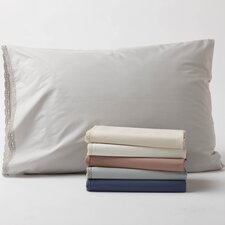 Lace 220 Percale Organic Cotton Sham