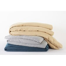 <strong>Coyuchi</strong> Rustic Herringbone Duvet Cover Collection