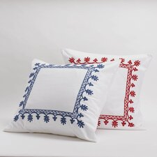Aari Embroidered Cotton Sham